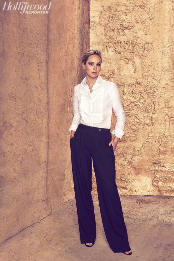 Jennifer Lawrence - The Hollywood Reporter 2017