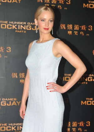 Jennifer Lawrence - 'The Hunger Games: Mockingjay' Part 2 Premiere in Beijing