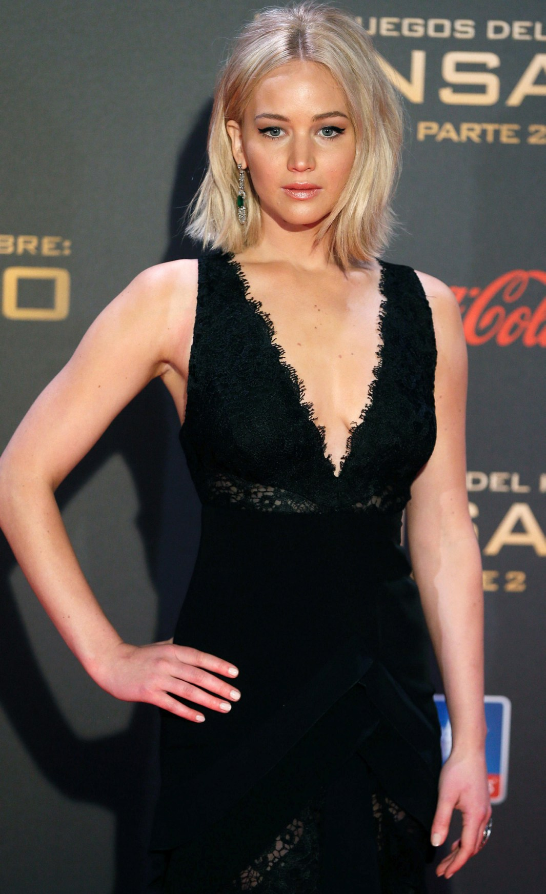 Jennifer Lawrence - 'The Hunger Games Mockingjay' Part 2 Premiere in Madrid