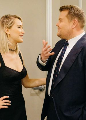 Jennifer Lawrence - The Late Late Show with James Corden in LA