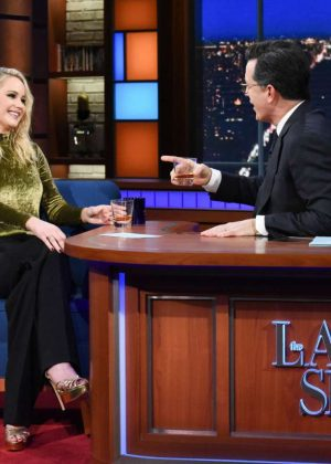 Jennifer Lawrence - 'The Late Show with Stephen Colbert' in NY