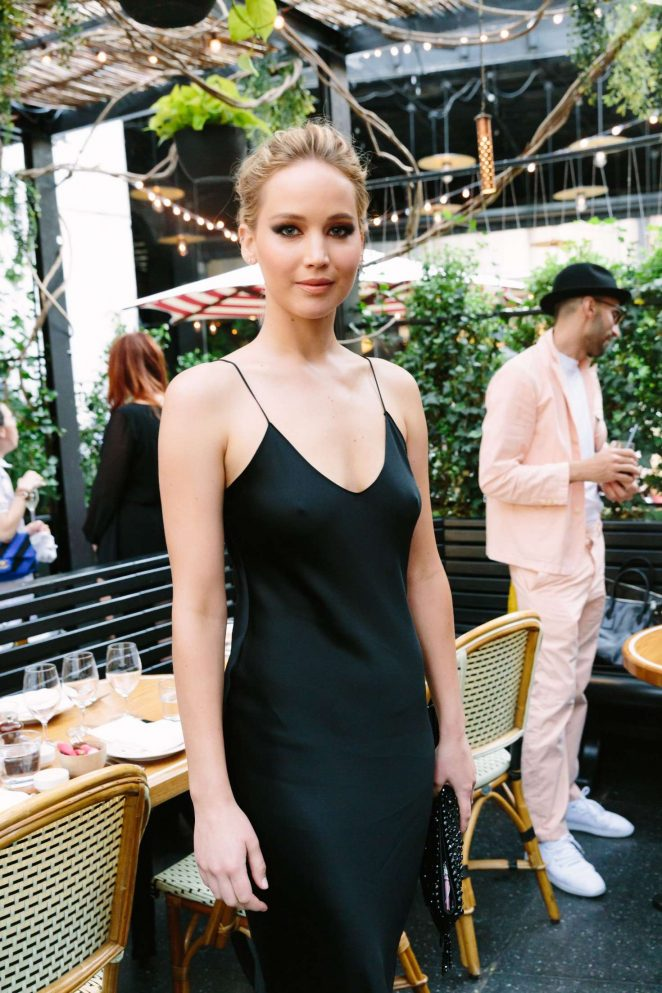 Jennifer Lawrence - The Standard Inaugurates Prune Nourry's: The Amazon in NYC
