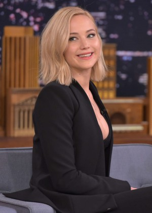Jennifer Lawrence - 'The Tonight Show Starring Jimmy Fallon' in NYC