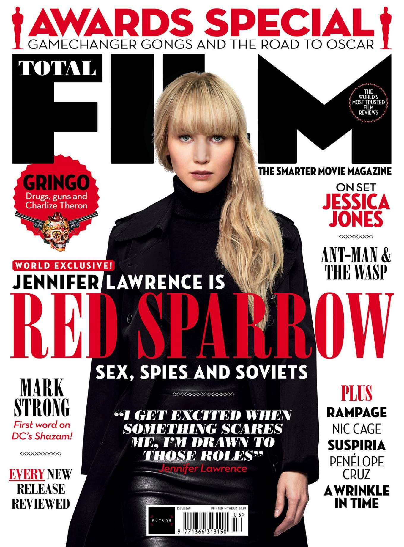 Jennifer Lawrence - Total Film Cover Magazine (March 2018)