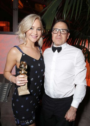 Jennifer Lawrence - Twentieth Century Fox Golden Globes After Party in Beverly Hills