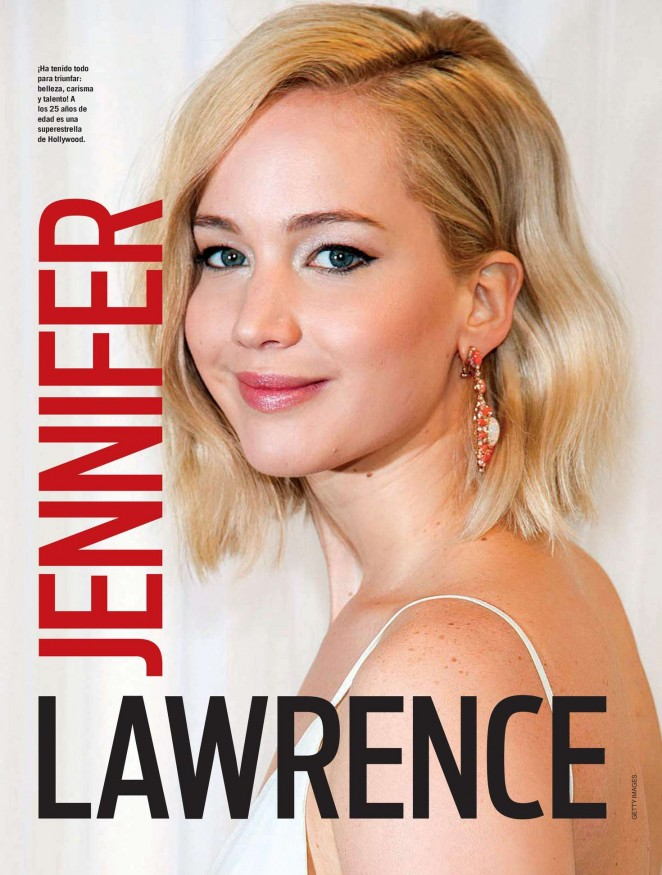 Jennifer Lawrence - Vanidades Colombia (February 2016)