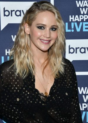 Jennifer Lawrence - Visits 'Watch What Happens Live with Andy Cohen' in NYC