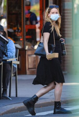 Jennifer Lawrence - With Cooke Maroney Are Spotted on a Lunch Date in New York City