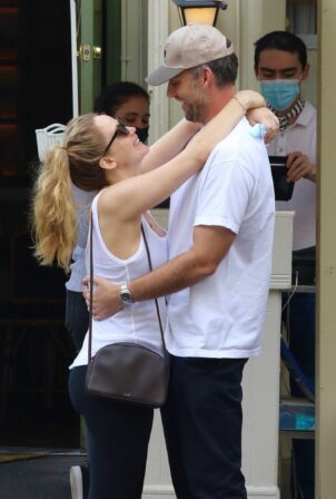 Jennifer Lawrence - With Cooke Maroney seen after having lunch in NYC
