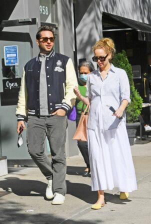 Jennifer Lawrence - With Derek Blasberg in New York