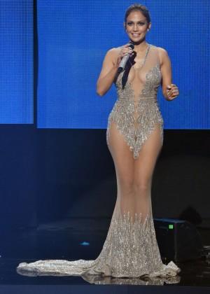 Jennifer Lopez - 2015 AMA American Music Awards in Los Angeles