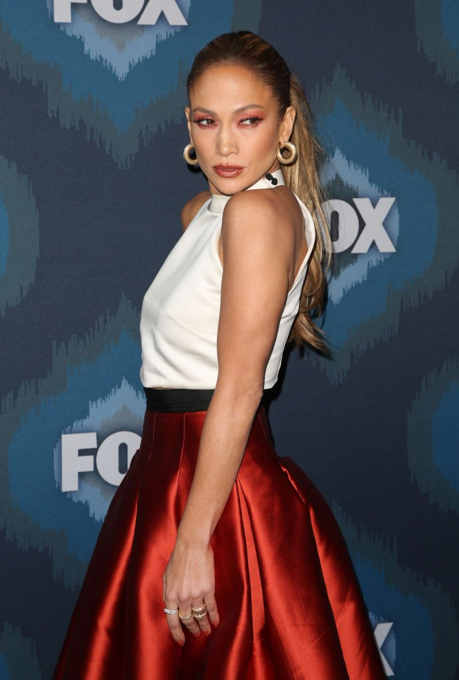 Jennifer Lopez - 2015 Fox All-Star Party in Pasadena