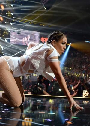 Jennifer Lopez: 2015 iHeartRadio Music Festival -09