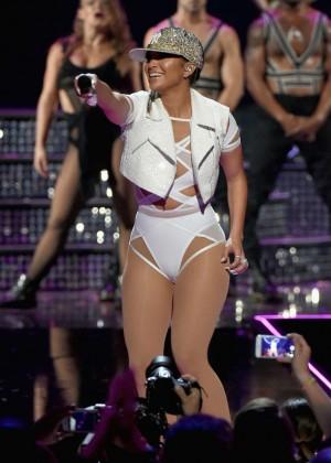 Jennifer Lopez: 2015 iHeartRadio Music Festival -48