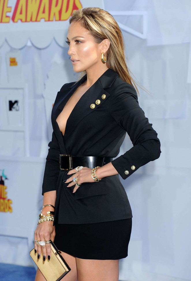 Jennifer Lopez: 2015 MTV Movie Awards -06