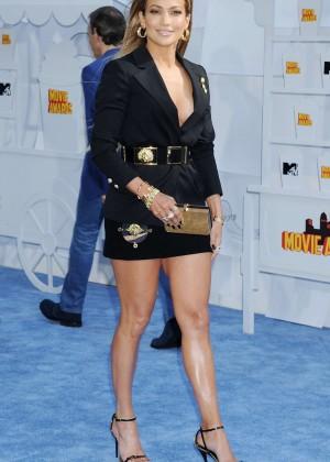 Jennifer Lopez: 2015 MTV Movie Awards -19