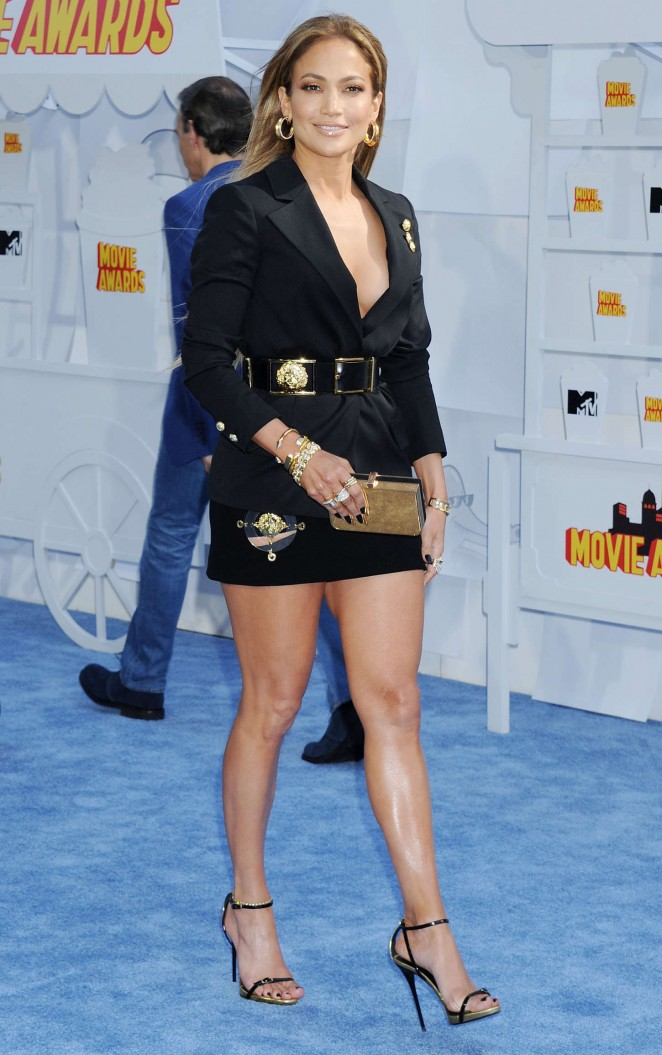 Jennifer Lopez: 2015 MTV Movie Awards -19