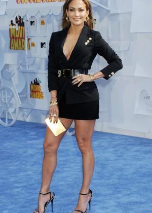 Jennifer Lopez: 2015 MTV Movie Awards -45