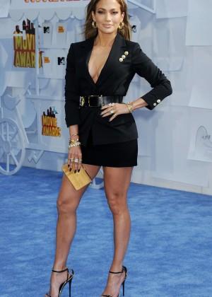 Jennifer Lopez: 2015 MTV Movie Awards -49