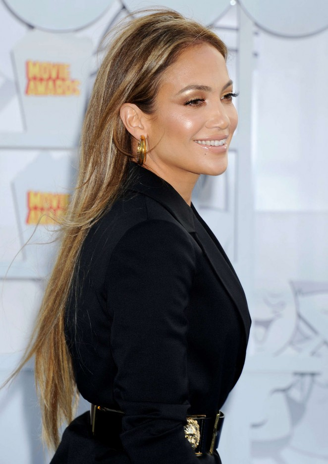 Jennifer Lopez: 2015 MTV Movie Awards -50