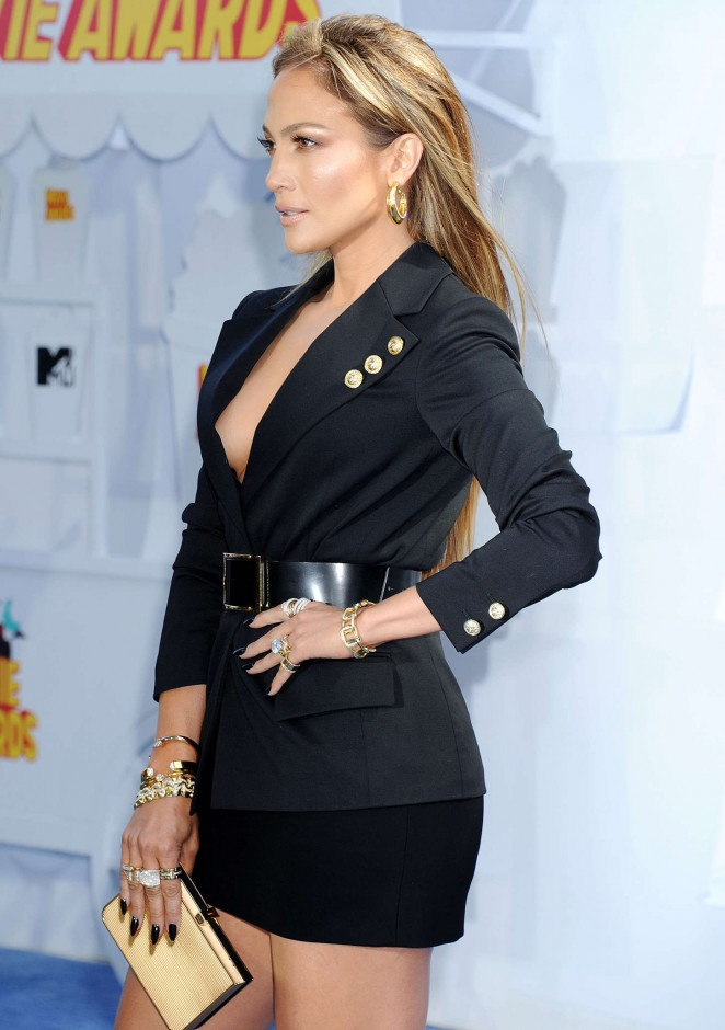Jennifer Lopez: 2015 MTV Movie Awards -52