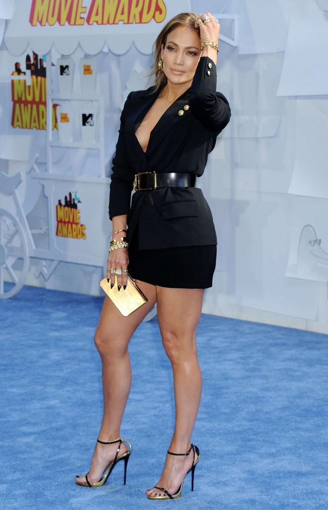 Jennifer Lopez: 2015 MTV Movie Awards -61