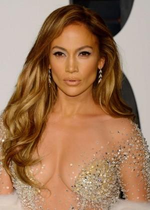 Jennifer Lopez - 2015 Vanity Fair Oscar Party in Hollywood