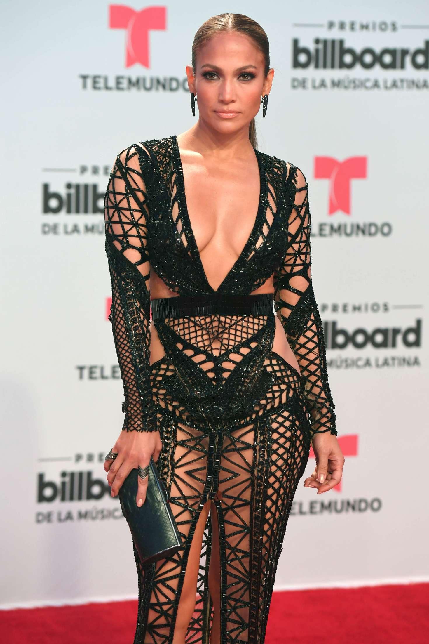 Jennifer Lopez - 2017 Billboard Latin Music Awards in Miami