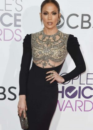 Jennifer Lopez - 2017 People's Choice Awards in Los Angeles