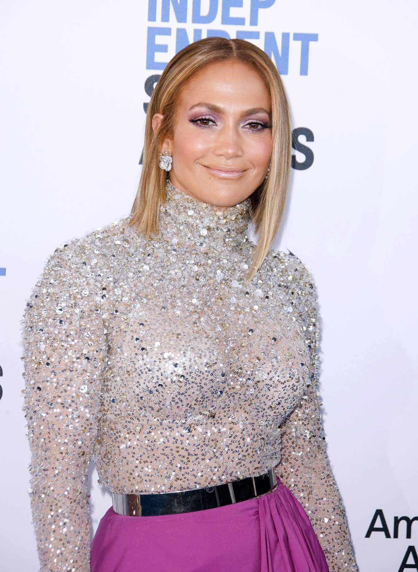 Jennifer Lopez - 2020 Film Independent Spirit Awards in Santa Monica