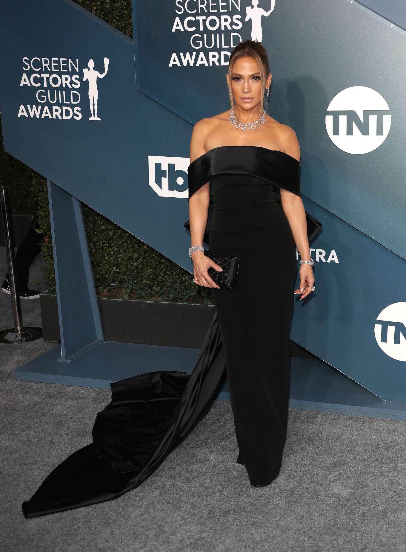 Jennifer Lopez 2020 : Jennifer Lopez – 2020 Screen Actors Guild Awards-09