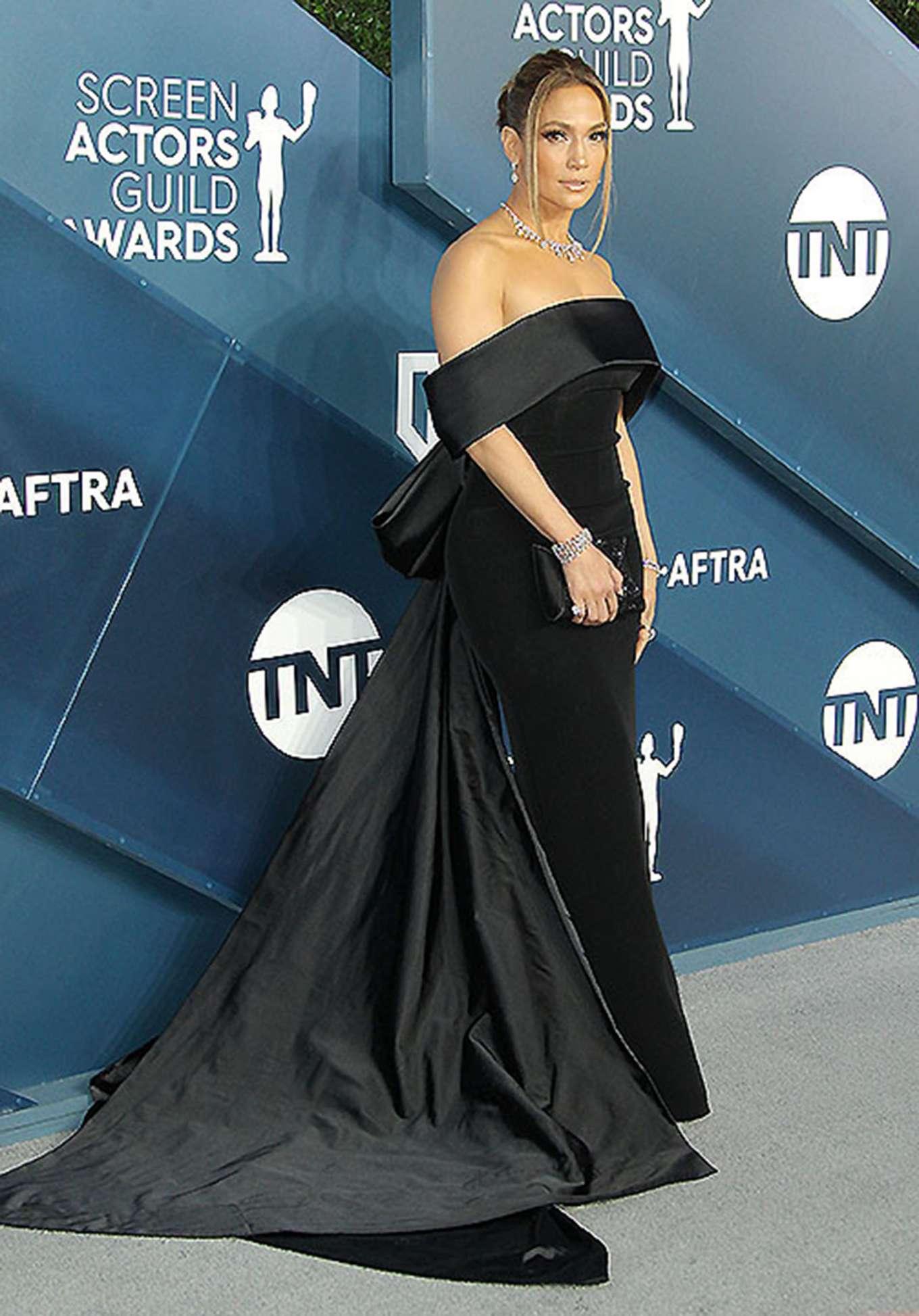 Jennifer Lopez 2020 : Jennifer Lopez – 2020 Screen Actors Guild Awards-11
