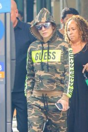 Jennifer Lopez - Ahead of her concert in New Jersey