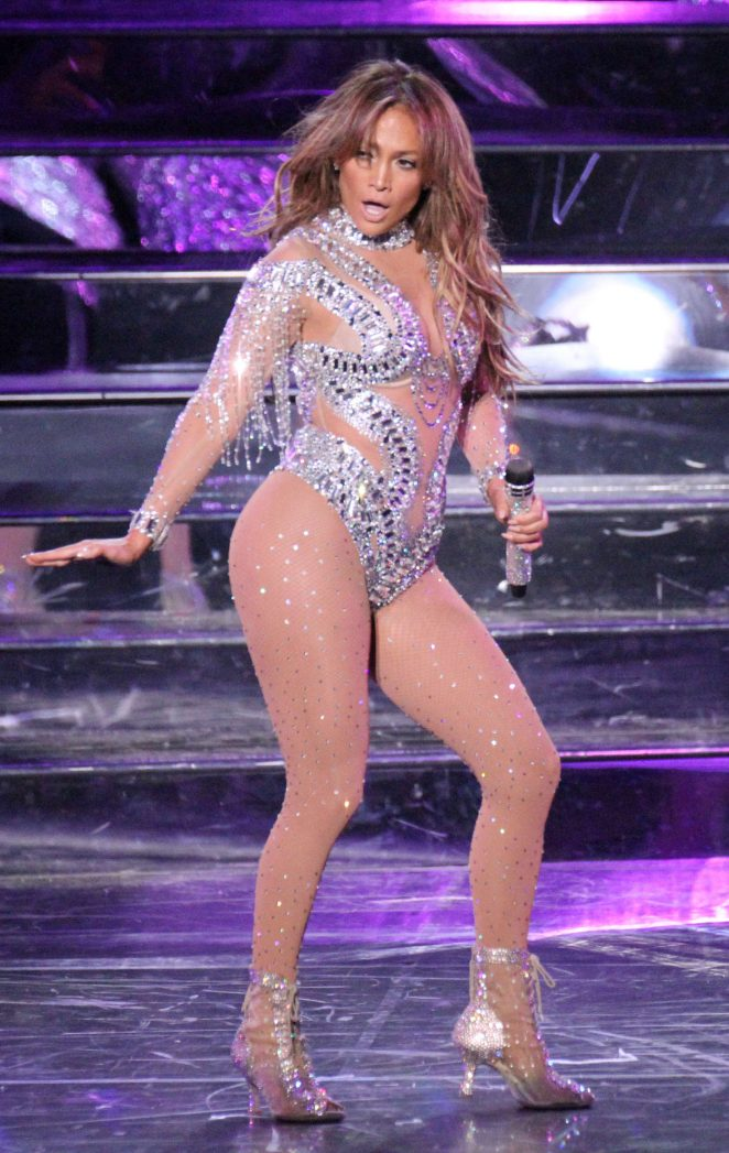 Jennifer Lopez - 'All I Have' Concert in Las Vegas