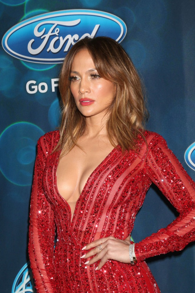 Jennifer Lopez - American Idol Farewell Season Finalist Party in West Hollywood