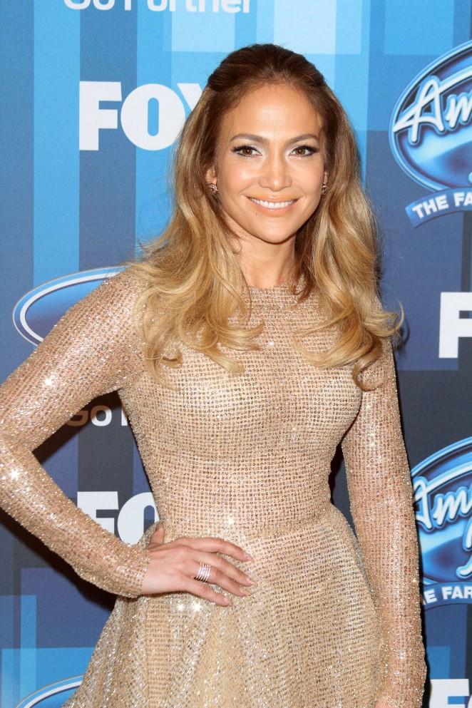 Jennifer Lopez - American Idol Finale 2016 in Los Angeles