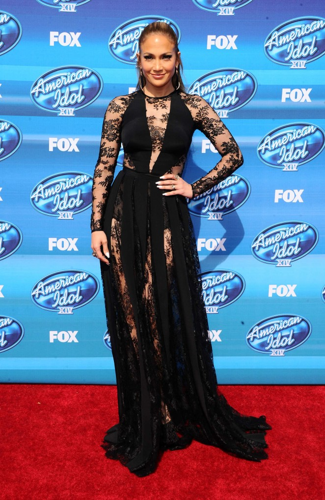 Jennifer Lopez - 'American Idol' Season XIV Finale in LA