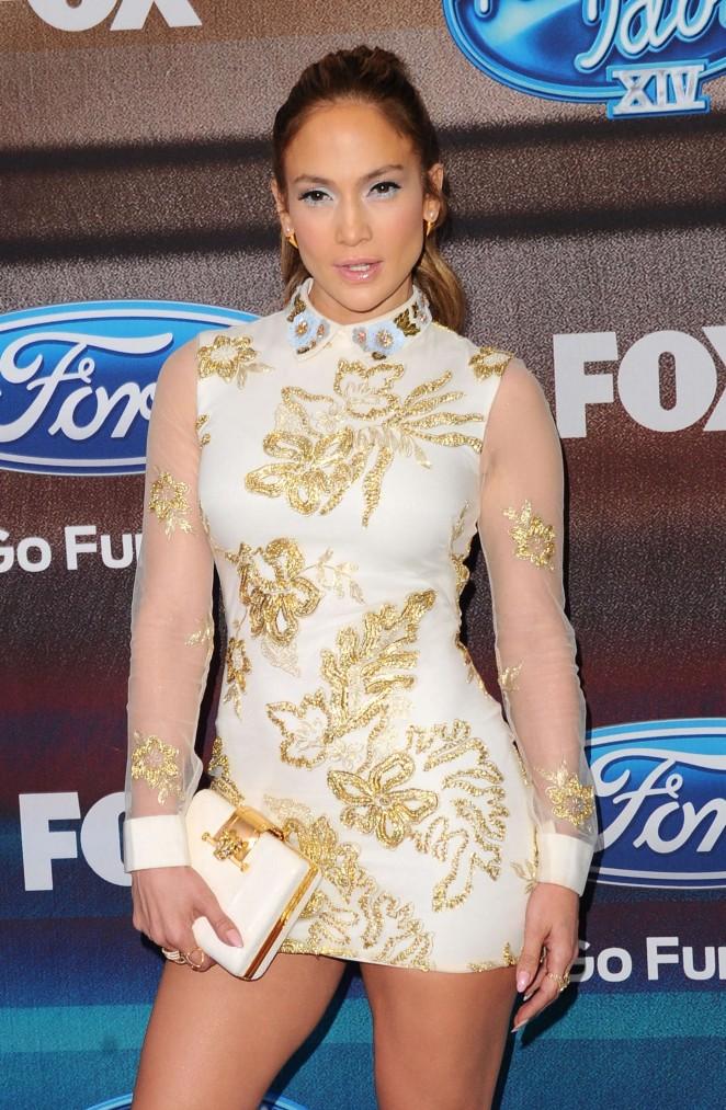 Jennifer Lopez – 'American Idol XIV' Finalist Party in Los Angeles