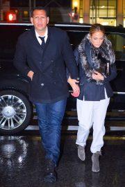 Jennifer Lopez and Alex Rodriguez - Out in Manhattan