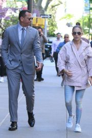 Jennifer Lopez and Alex Rodriguez - Out in NYC