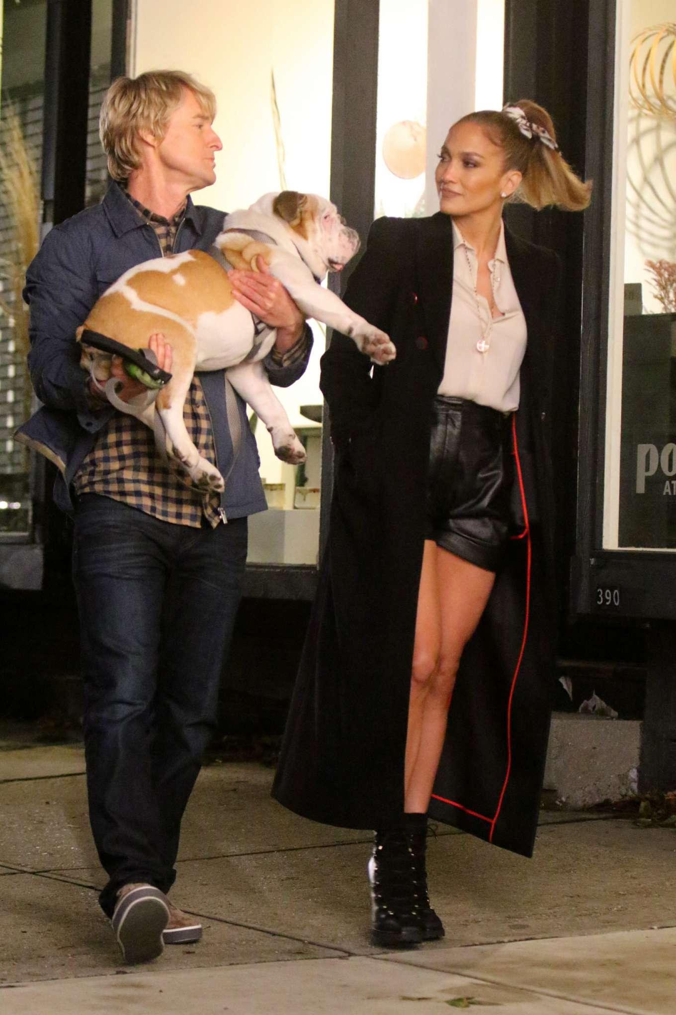 Jennifer Lopez and Owen Wilson - Filming 'Marry Me' set in Brooklyn