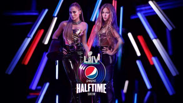 Jennifer Lopez and Shakira - Promotional pictures for the NFL Super Bowl LIV