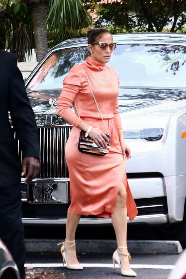 Jennifer Lopez: Arrives at Alex Rodriguez daughters graduation-15
