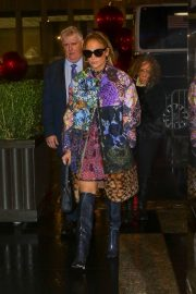 Jennifer Lopez - Arrives at 'The Tonight Show Starring Jimmy Fallon' in New York