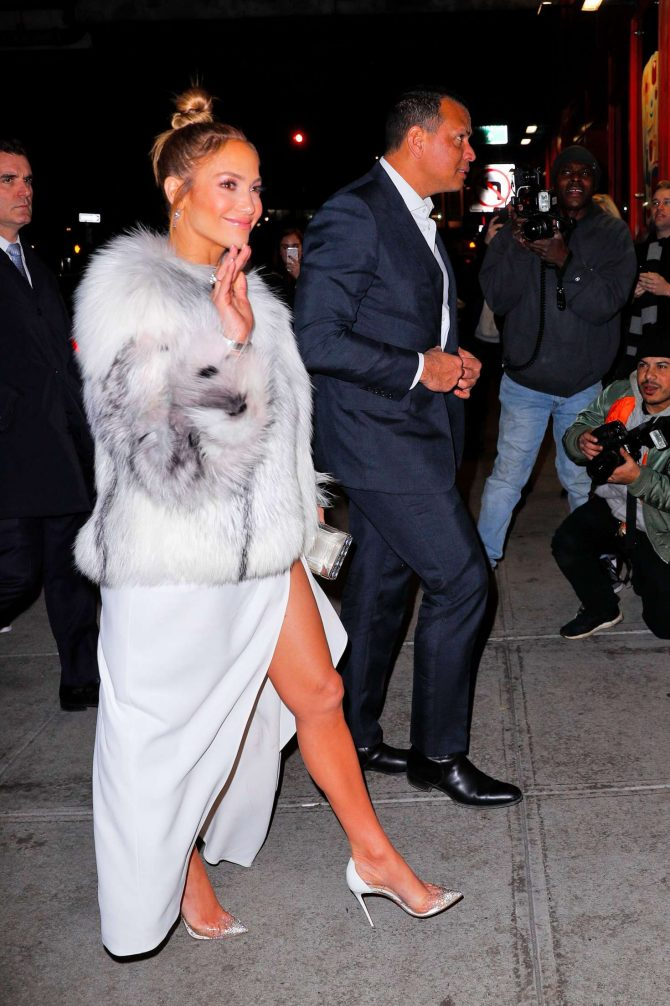 Jennifer Lopez – Arrives for 'Second Act' After Party in New York