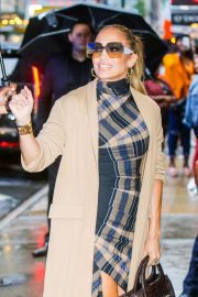 Jennifer Lopez - Arriving at Good Morning America in NYC