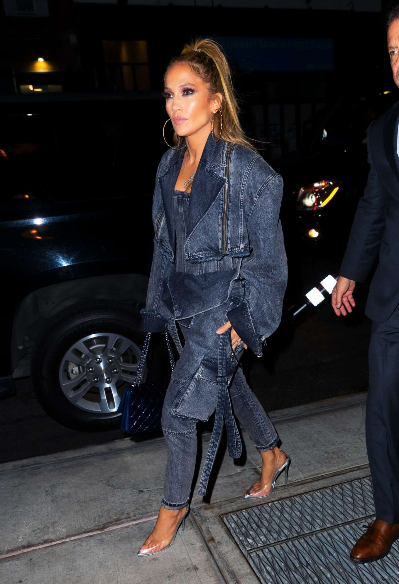 Jennifer Lopez - Arriving at Special Screening of 'Hustlers' in NYC