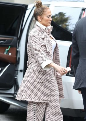 Jennifer Lopez - Arriving for a business meeting in LA