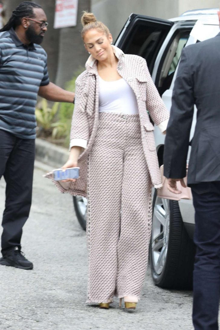 Jennifer Lopez: Arriving for a business meeting in LA -02