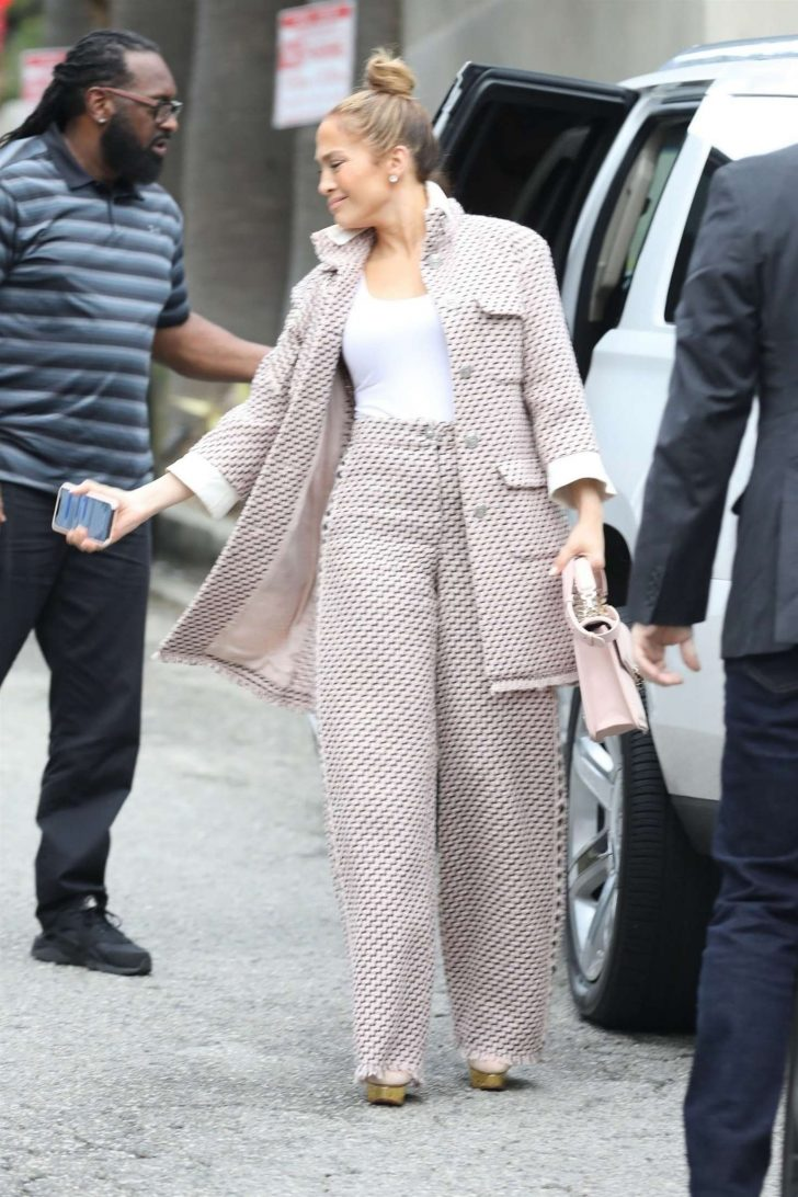 Jennifer Lopez: Arriving for a business meeting in LA -04